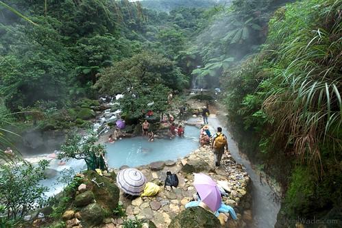 NAtural Hot Springs in Yangming Shan, Taiwan