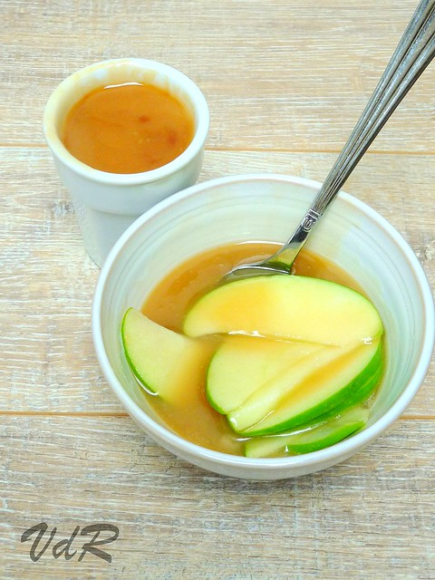 Pommes au caramel au beurre salé
