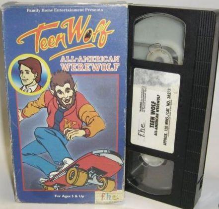 Teen Wolf VHS Vol 2