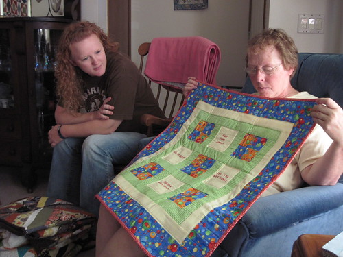 Riley's baby quilt