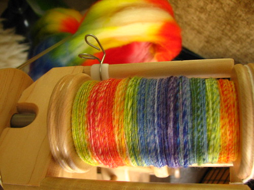 Rainbow SW Merino on Lendrum