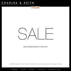 Charles & Keith End Of Season Sale 12 Nov 10+