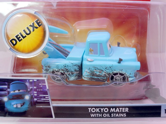 disney CARS Toon Tokyo MAter With Oil Stains (2)