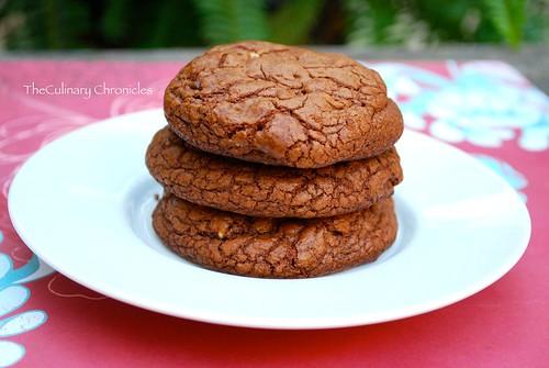Triple Chocolate Mint Cookies