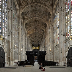 king's college chapel, cambridge 1446-1515.