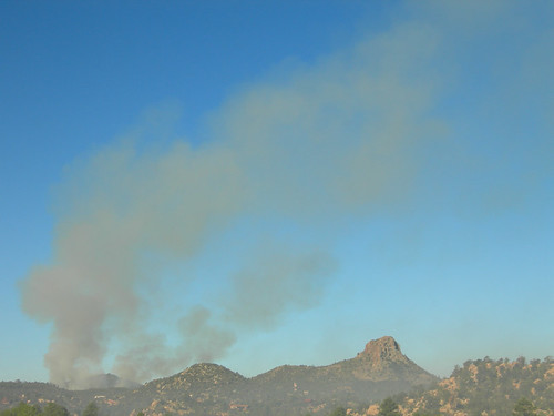 Controlled Burn Near Thumb Butte