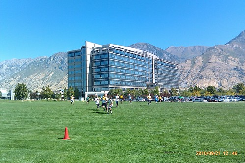 Ultimate Frisbee tournament @novell