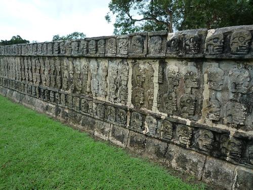 Mauer der Totenköpfe, Chichen Itza