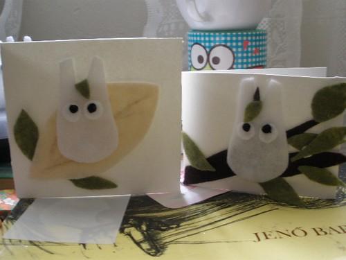 Chibi Totoro Cards