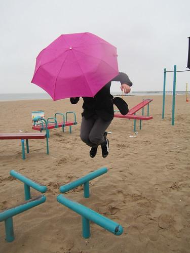 Umbrella Jump