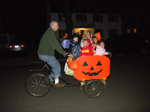 5 in the Halloween buggy