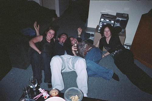 New Year's Eve party, 2002
