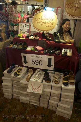 Chilli Margarita Shoes (Global Pinoy Bazaar 2010)