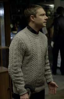 Watson's sweater screencap