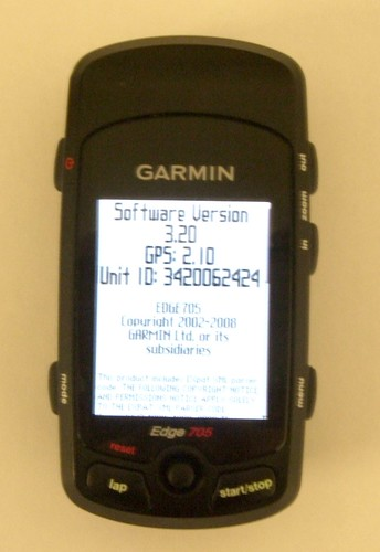 Dummies Guide to the Garmin Edge 705 (1/4)