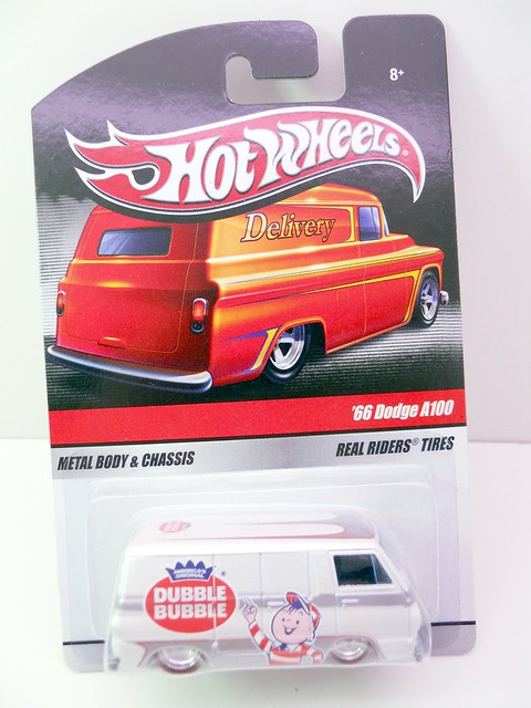 hot wheels delivery double bubble '66 dodge a100 (1)
