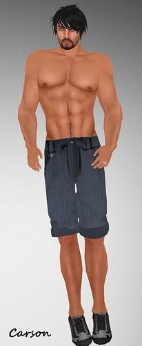 #96 MHOH4 Gift  =PARX=   Corduroy Shorts