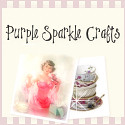 Purple Sparkle Crafts