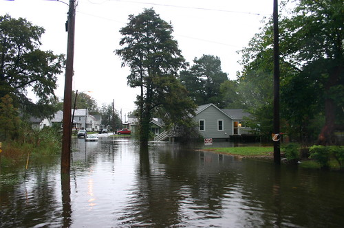 Elizabeth City - Flood - House from Dawson (by Ryan Somma)