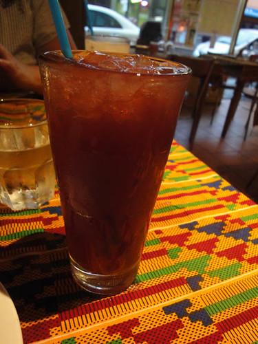 African Feeling: Hibiscus drink