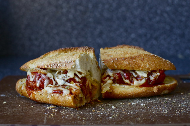 meatball sub in its final minutes of life