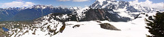 Panoramic view from Artist Point