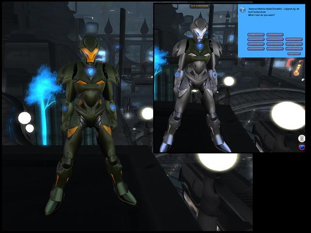 Male Warrior AV - tintable