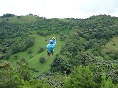 Seilbahnfahrt in Monteverde