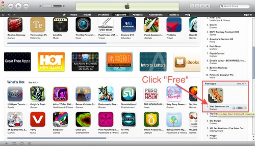 iTunes Store 10.0 Free US Account (6/6)
