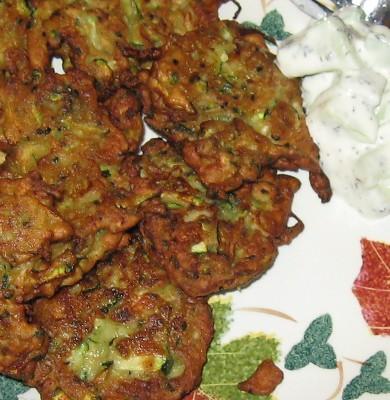 courgette bhaji