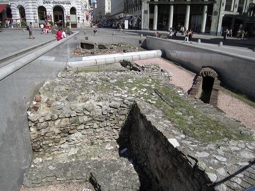Streets roman ruins