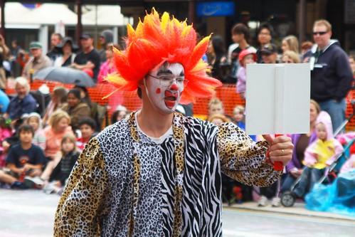 Orange-Haired Clown