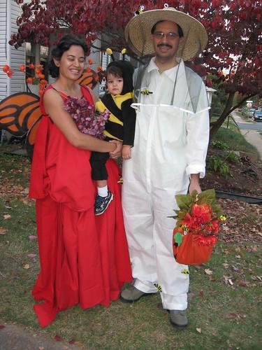 bee theme halloween