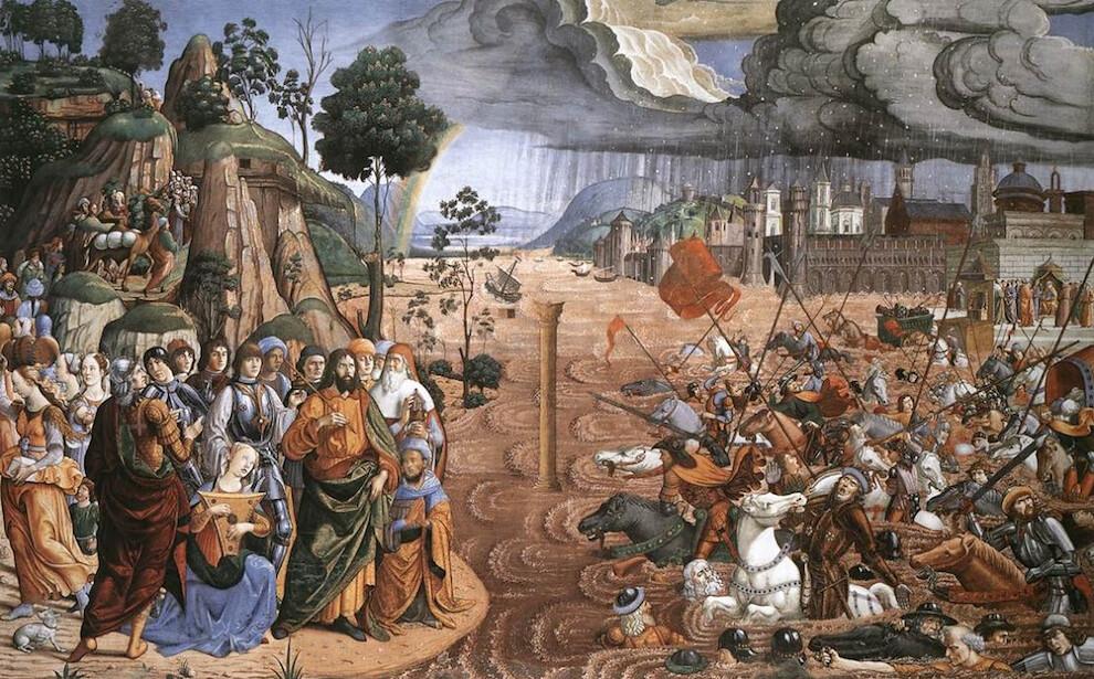 5188690963 ec519b7870 b Sistine Chapel   Incredible Christian art walk through