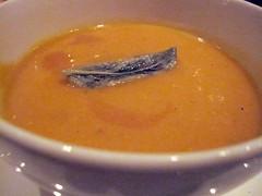 Acorn and Butternut Squash Soup - Pylos