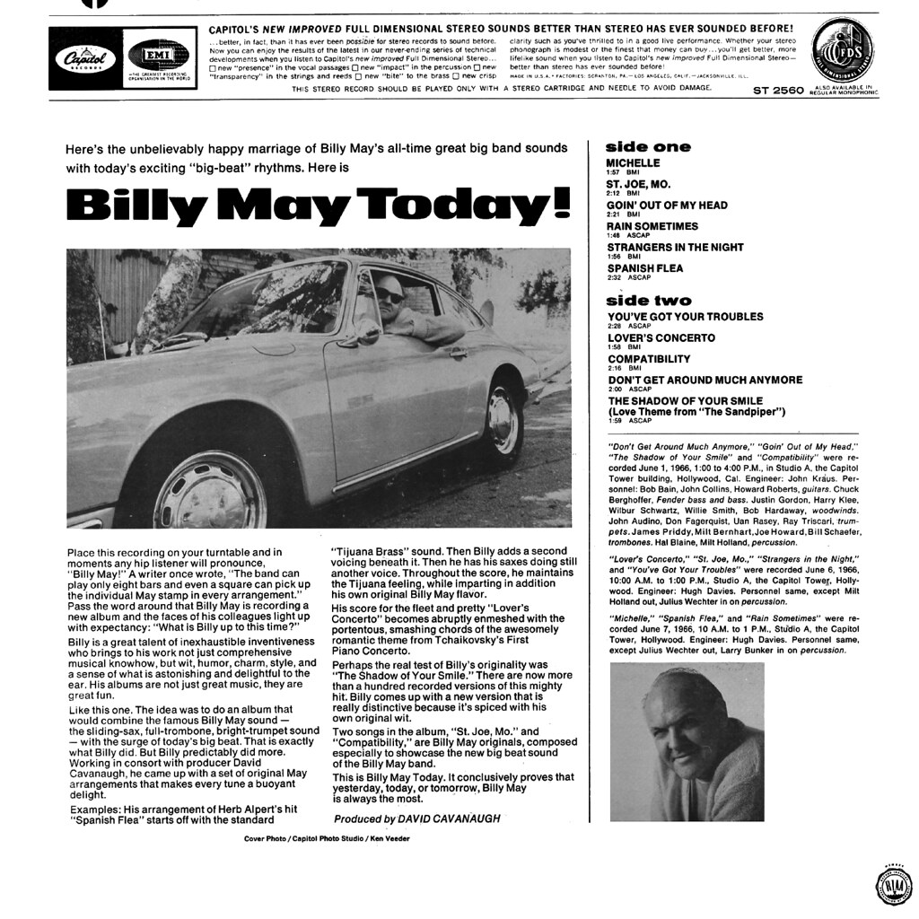 Billy May - Today!