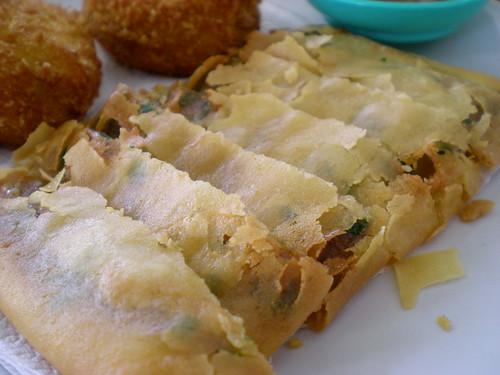 Roy's fish paste pancake