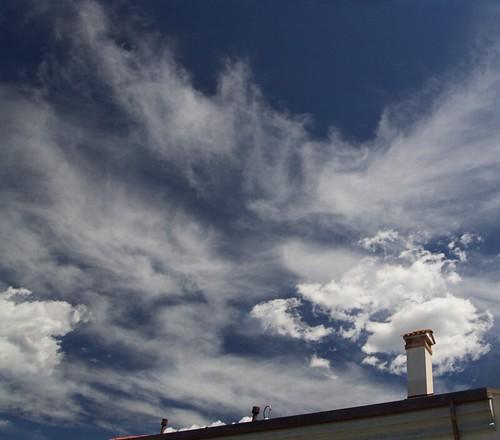 Smoke or clouds? ;)
