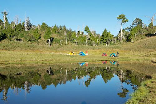 Jialuo Hu 加羅湖 Campsite