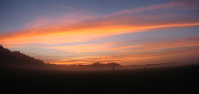 Sunrise over the Airfield
