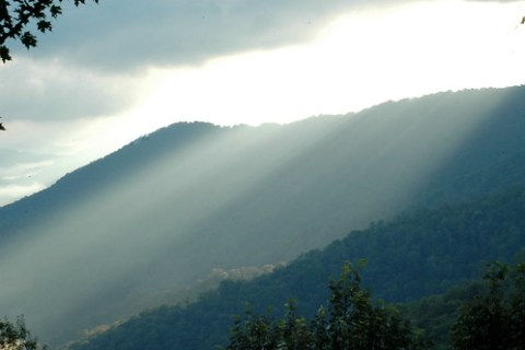 Morning Mists in the Mountains