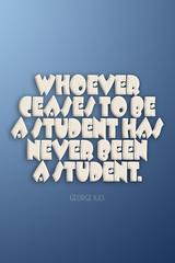 Perpetual Student (1 of 2)