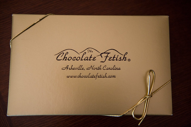 The Chocolate Fetish truffles