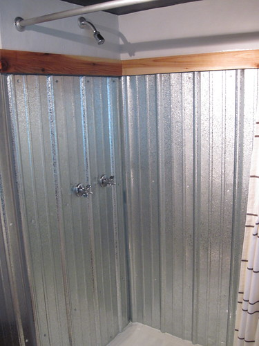 Galvanized Shower Surround A Complete How To