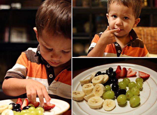 Dylan love fruit
