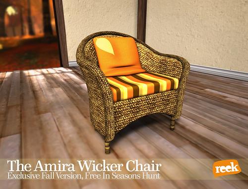 Reek - Amira Wicker Chair