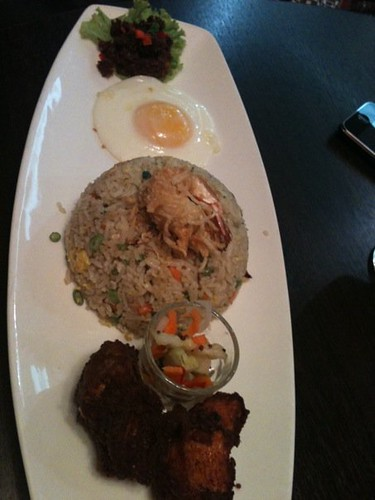 penang village fried chicken rice