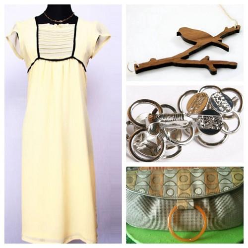 Yellow Dress Collage