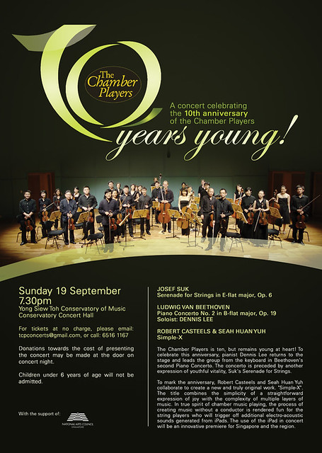 The Chamber Players 10th anniversary concert