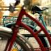 Coolblå cykel